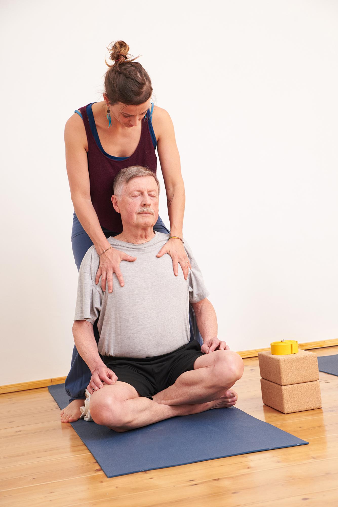 Babs Kuschel Yoga Einzelyoga